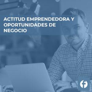 curso ACTITUD EMPRENDEDORA Y OPORTUNIDADES DE NEGOCIO