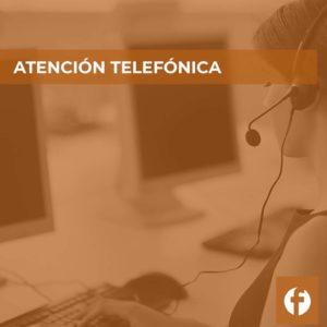 curso online ATENCION TELEFONICA