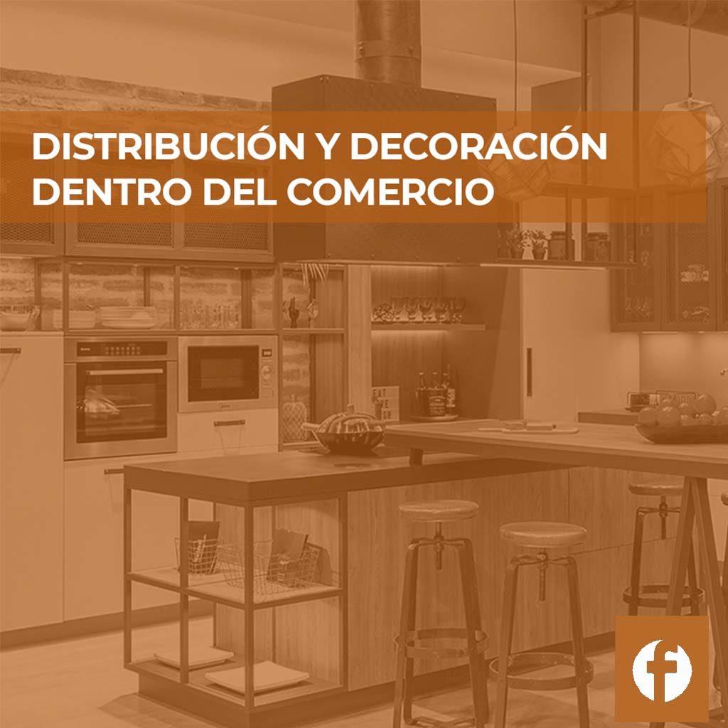 curso DISTRIBUCION Y DECORACION DENTRO DEL COMERCIO