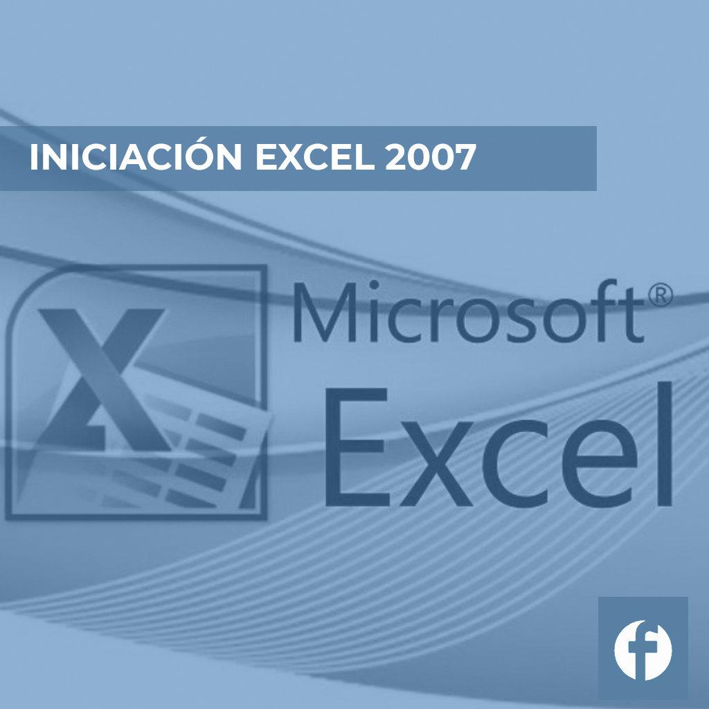 curso INICIACION EXCEL 2007