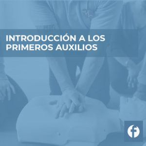 curso INTRODUCCION A LOS PRIMEROS AUXILIOS