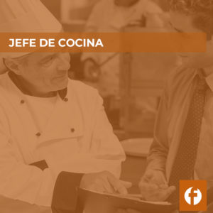 curso JEFE DE COCINA