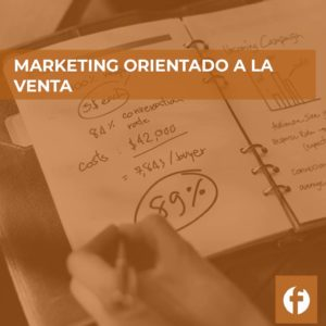 curso MARKETING ORIENTADO A LA VENTA