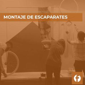 curso MONTAJE DE ESCAPARATES