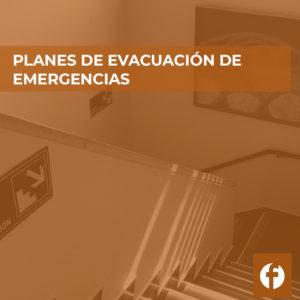 curso online PLANES DE EVACUACION Y EMERGENCIAS