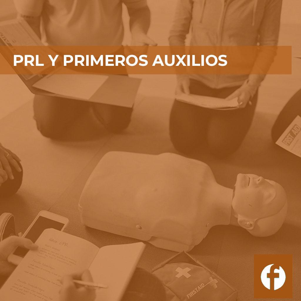 curso PRL Y PRIMEROS AUXILIOS