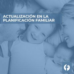 formación ACTUALIZACION EN LA PLANIFICACION FAMILIAR