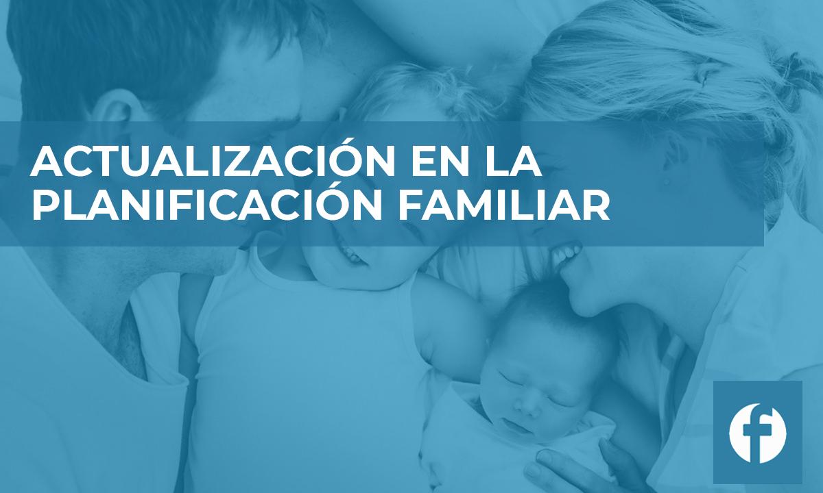 formacion ACTUALIZACION EN LA PLANIFICACION FAMILIAR