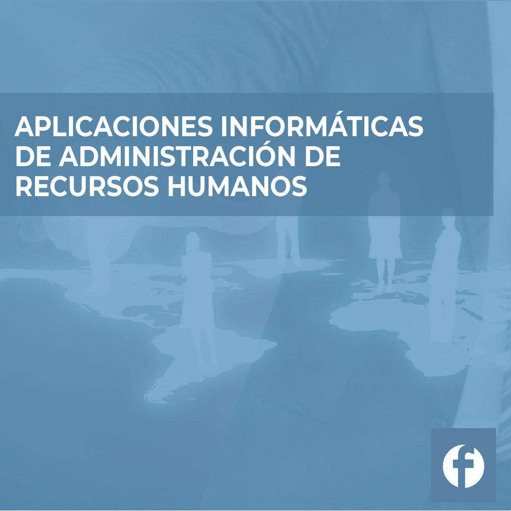 curso APLICACIONES INFORMATICAS DE ADMINISTRACION DE RECURSOS HUMANOS