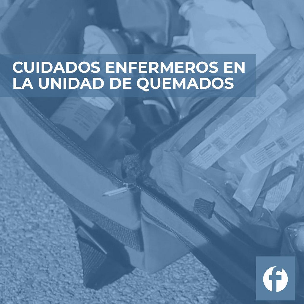 formación CUIDADOS ENFERMEROS EN LA UNIDAD DE QUEMADOS