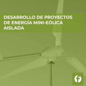 curso DESARROLLO DE PROYECTOS DE INSTALACION DE ENERGIA MINI EOLICA AISLADA