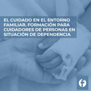 formacion EL CUIDADOS EN EL ENTORNO FAMILIAR. FORMACION PARA CUIDADORES DE PERSONAS EN SITUACION DE DEPENDENCIA