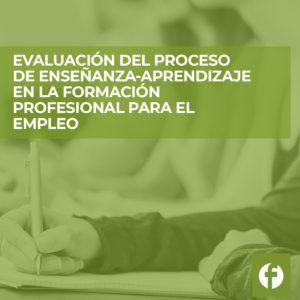 curso online Evaluación del Proceso de Enseñanza-aprendizaje en Formación Profesional para el Empleo