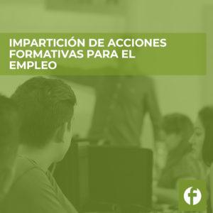 curso Impartición de Acciones Formativas para el Empleo