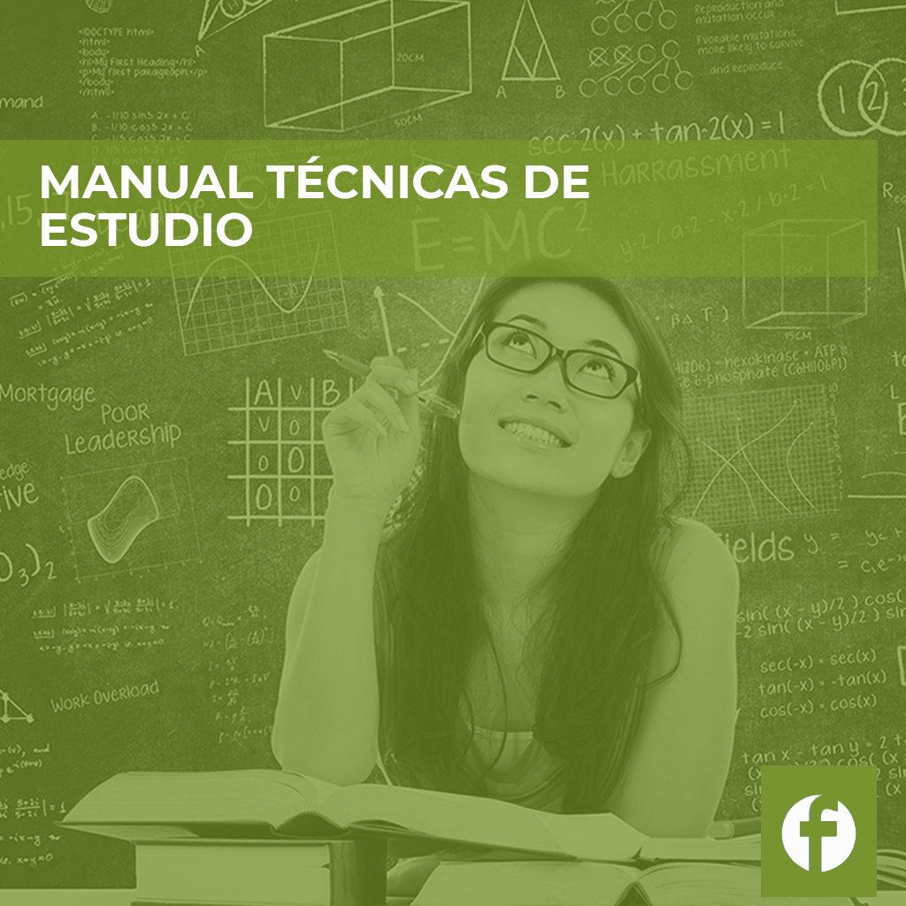 formación online MANUAL TÉCNICAS DE ESTUDIO