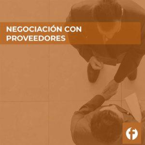curso NEGOCIACIÓN CON PROVEEDORES