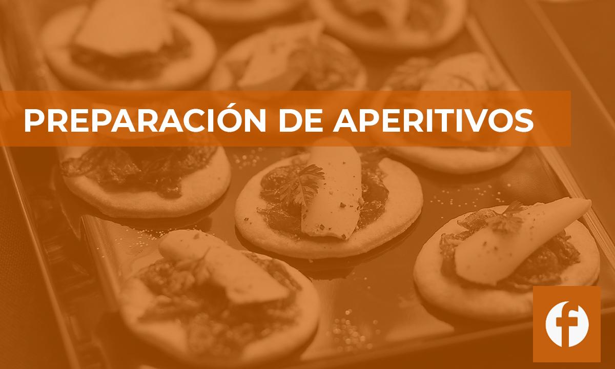 curso PREPARACION DE APERITIVOS