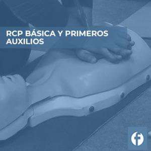 formación RCP BÁSICA Y PRIMEROS AUXILIOS