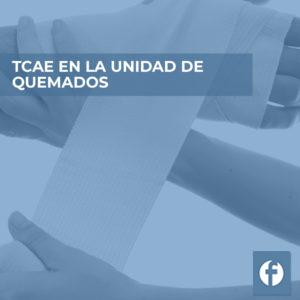 formacion TCAE EN LA UNIDAD QUEMADOS