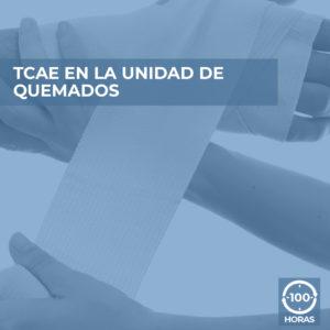 curso online TCAE EN LA UNIDAD QUEMADOS