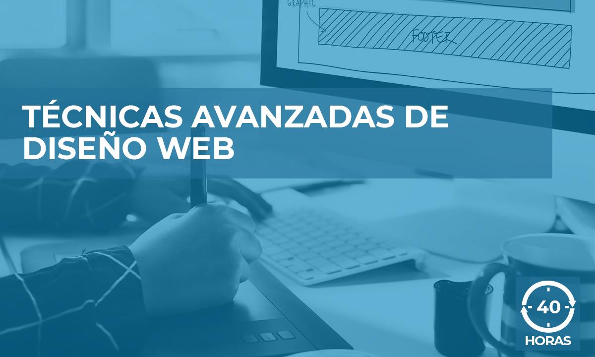 curso técnicas avanzadas diseño web