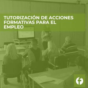 curso online Tutorización de Acciones Formativas para el Empleo