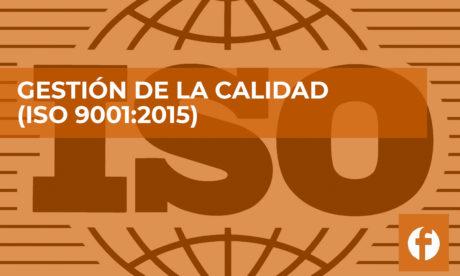 curso GESTION DE LA CALIDAD ISO 9001
