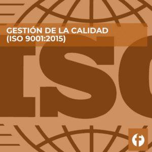 curso GESTION DE LA CALIDAD ISO