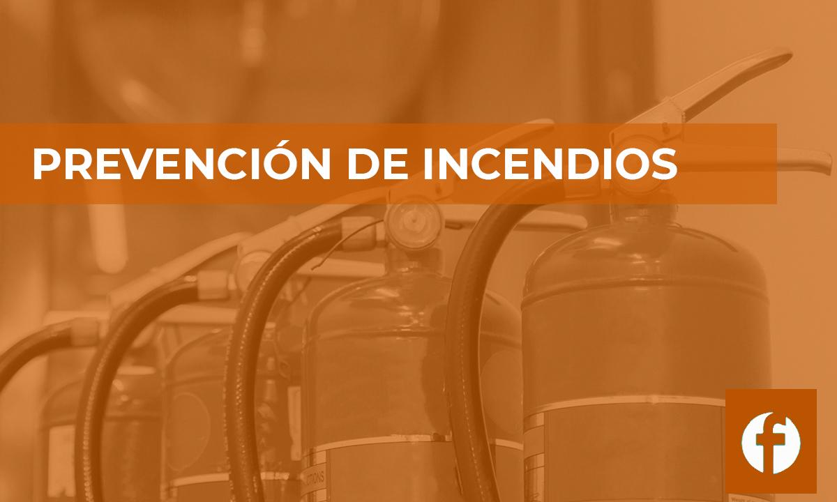 curso PREVENCION DE INCENDIOS