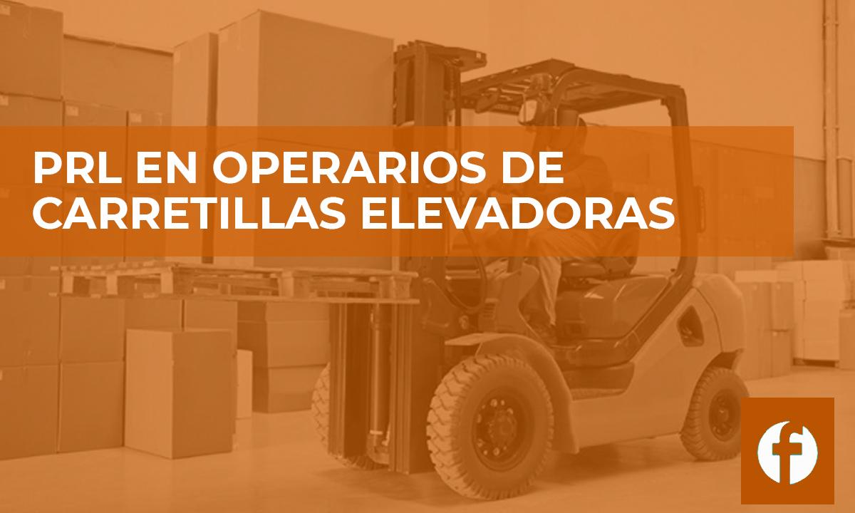 curso PRL EN OPERARIOS DE CARRETILLAS ELEVADORAS