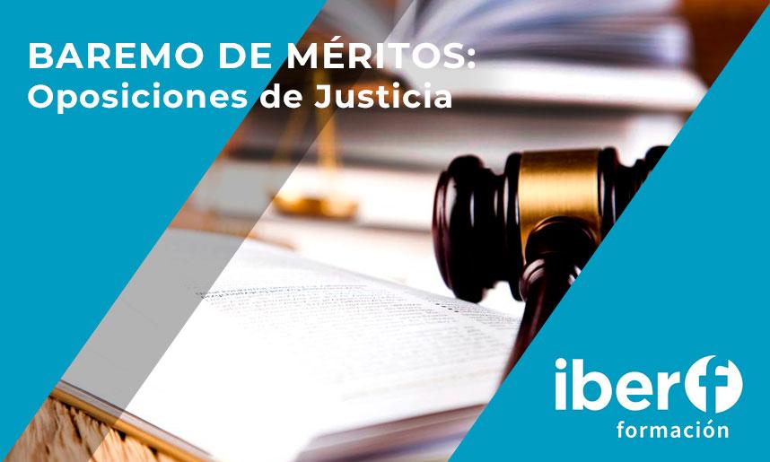 méritos oposiciones de justicia