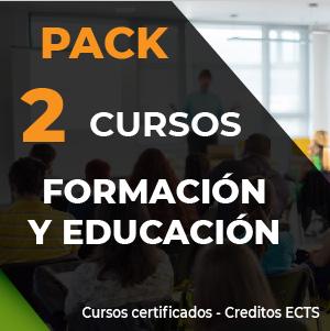Pack 2 cursos online Formación y Educación