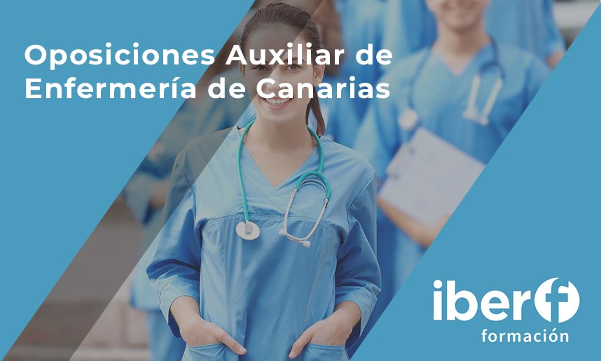 Oposiciones auxiliar de enfermería Canarias