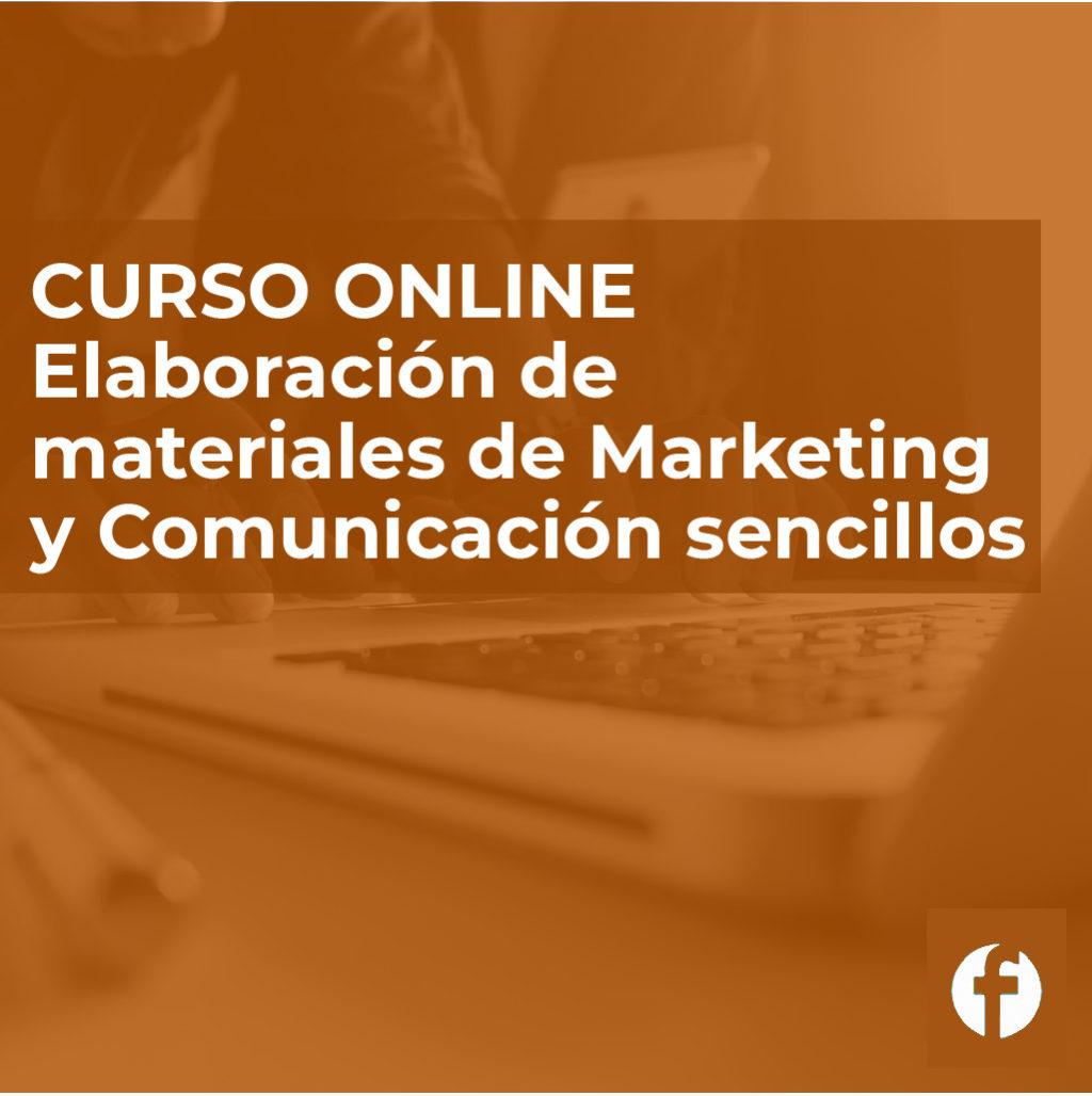 Curso elaboracion de materiales de marketing y comercio