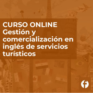 Curso online Gestión en inglés de servicios turísticos