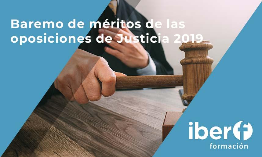 méritos oposiciones justicia