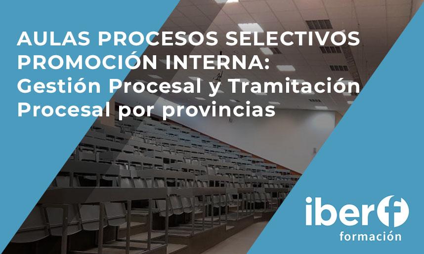 Promoción interna Gestión procesal