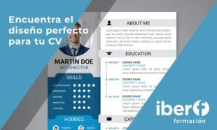 Encuentra el diseño perfecto para tu CV