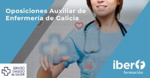 Oposiciones Auxiliar de enfermería Galicia