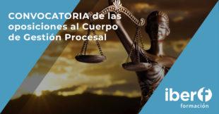 Convocatoria oposiciones Gestión Procesal