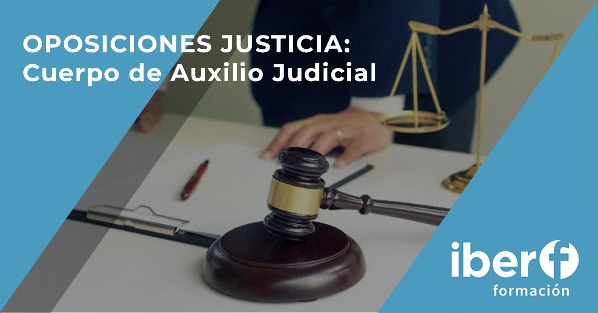 Oposiciones justicia: auxilio judicial