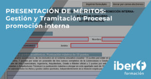 Presentación de méritos oposiciones Justicia