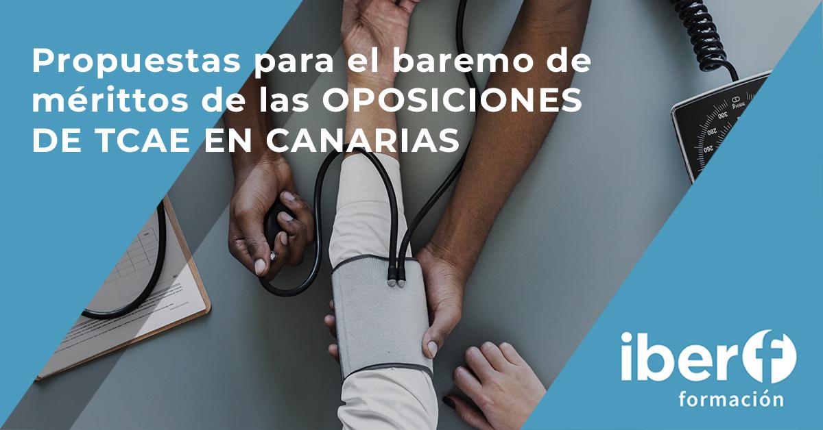 Baremo de méritos TCAE Canarias