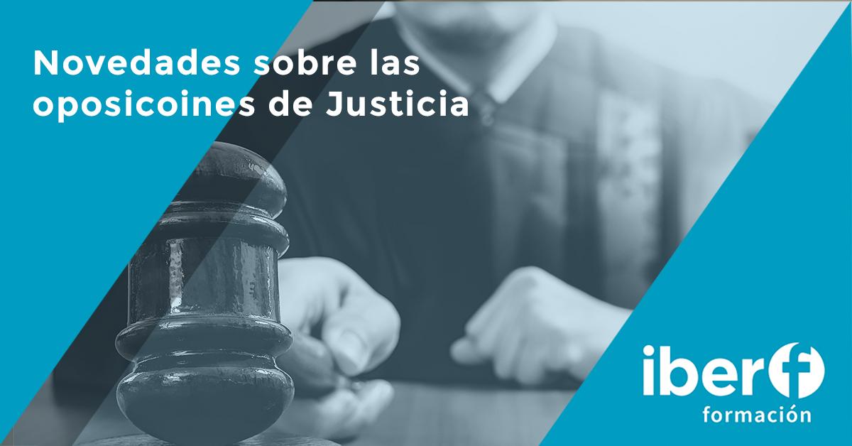 Oposiciones de Justicia 2019