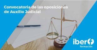 Convocatoria Auxilio Judicial