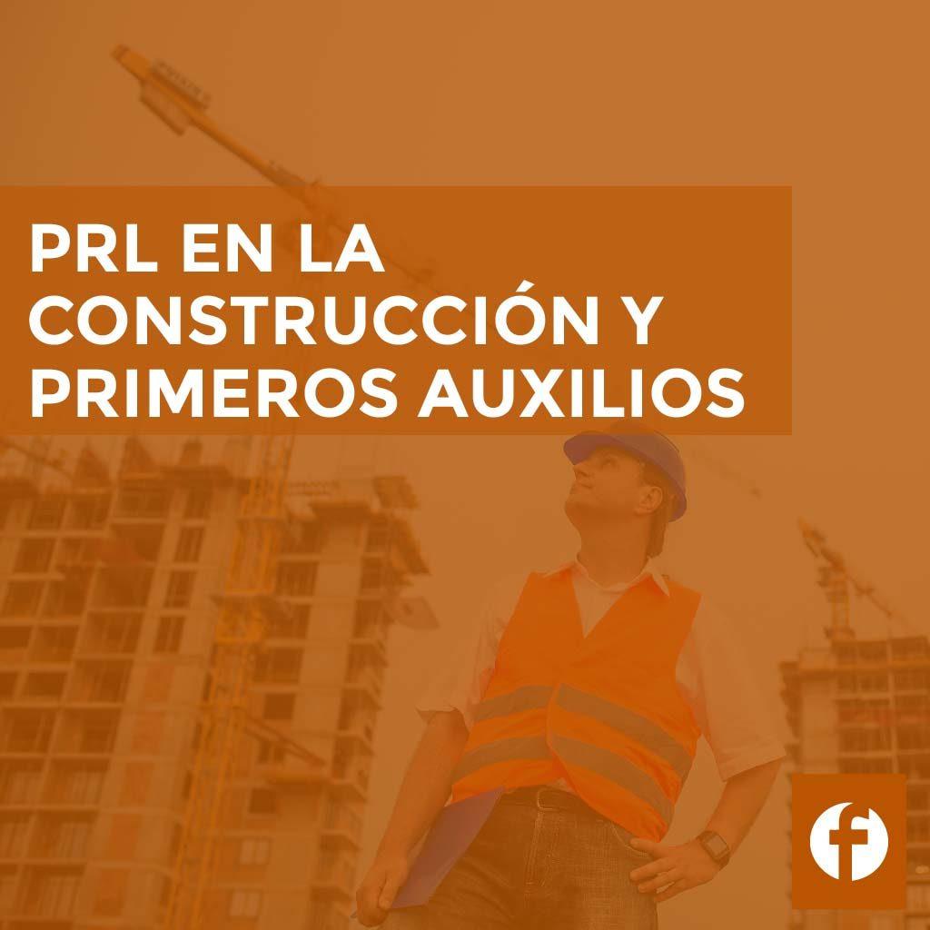 Curso prevención de riesgos laborales en la construcción